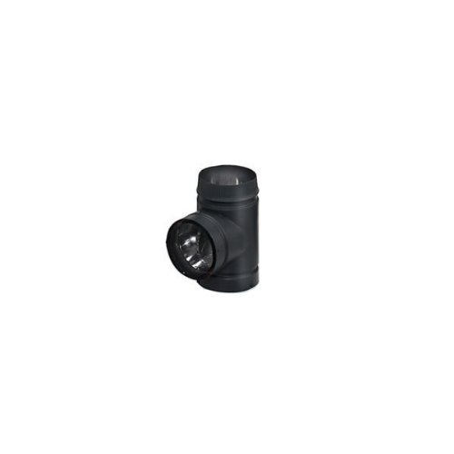 - Copperfield 77335 6 Inch Model DSP Double-Wall Stovepipe Tee With Cover