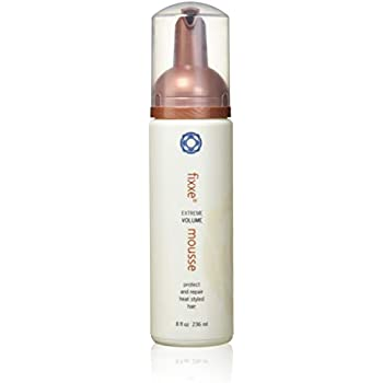 Thermafuse Fixxe Volume Mousse 8 oz. A Sulfate Free, Lightweight, Bodybuilding, Volumizing Foam Styling Product. Gives Natural Bounce to Thin, Thinning, Fine or Normal Hair w/Proteins & Vitamins