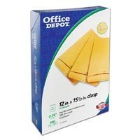 330960-part-330960-clasp-110-envelopes-12x155-brown-kraft-100-bx-from-office-depot