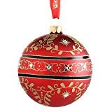Waterford Majestic Scroll Ball 155316 Christmas Ornament