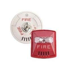 Wheelock Hsrc Hsc Series Red Ceiling Mount Fire Alarm Signal Horn Strobe