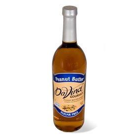 Da Vinci SUGAR FREE Peanut Butter Syrup 750mL with Splenda ()