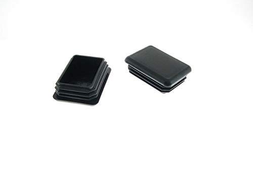 2 Pack 1-1/2'' x 2'' Recangular Tubing Plugs RER-1.5X2-10-1