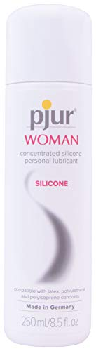Pjur Woman Silicone - Water-Based Personal Lubricant Specially Formulated Women and The Needs of Female Skin (8.5 Fluid Ounce / 250 Milliliter) ()