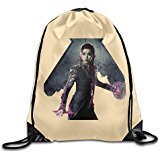PAGE2 Large Capacity Fan Bingbing Poster Backpack White