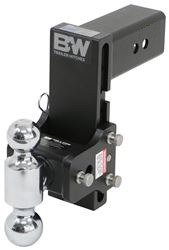 B&W TS30040B Tow & Stow Model 10 Dual-Ball Hitch 2'' x 2 5/16'' for 3'' Receivers 7.5'' Drop 7'' Rise by B & W Trailer Hitches