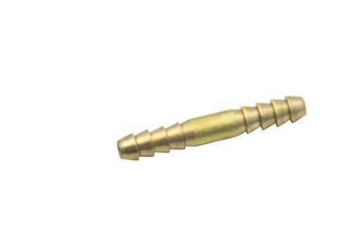 LTWFITTING Brass Barb Hose Splicer Mender 1/8