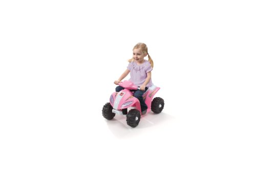 Find Bargain Step2 Mini Quad Ride On, Pink