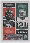 #8: Malcolm Butler; Russell Wilson (Football Card) 2017 Panini Classics - Classic Clashes #CC-RWMB