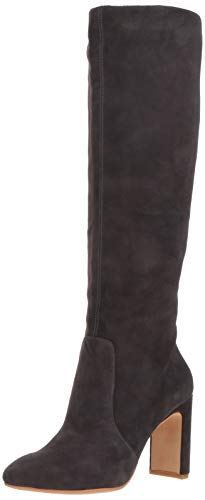 - Dolce Vita Women's COOP Knee High Boot, Anthracite Suede, 6 M US