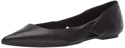 Calvin Klein Women's Merrel Ballet Flat Black Nappa Leather 9 M M US