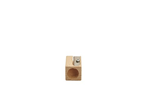 Koh-i-Noor Wooden Pencil Sharpeners, 3 Different Sized Holes, Pack of 2 (FASHARP.2)