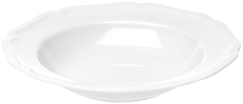 - Mikasa Antique White Rim Soup Bowl, 14-Ounce