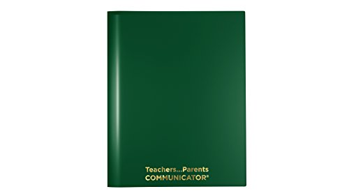 Nicky's Communicator Folder (Pack of 50), Flexible Plastic Folder for Letter Size Papers (Green) ()
