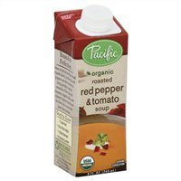 Pacific Organic Soup, Red Pepper & Tomato, 8 Oz. (Pack of 4) ()