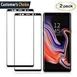 Samsung Galaxy S9 Tempered Glass Screen Protector,[2-Pack]-9H Hardness,Anti-Fingerprint,Ultra-Clear, Full Coverage,Bubble Free Screen Protector for Galaxy S9