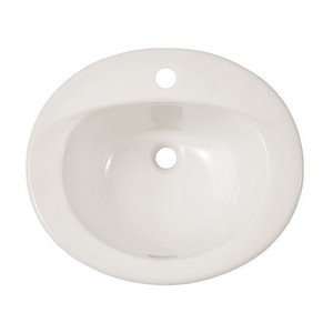 Toto LT501#12 20-Inch by 17-Inch Self Rimming Lavatory Sink, Sedona Beige
