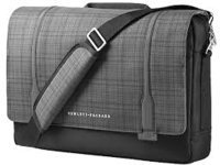 HP Carrying Case (Messenger) for 15.6'' Ultrabook - Black, Gray F3W14AA