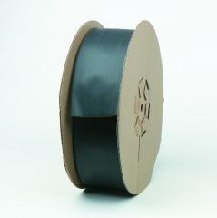 FP301-1//2-200-Black-Spool 200 ft Length +212 F Shrink Temp 2:1 Shrink Ratio PRICE is per SPOOL 3M Black Polyolefin Heat Shrink Tubing