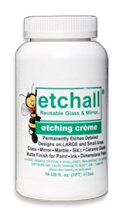 etchall Etching Creme (16 oz) by Etchall