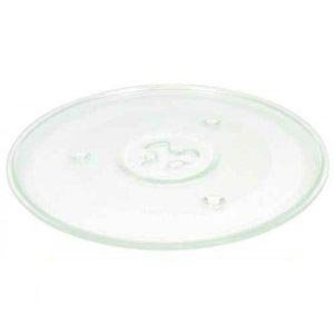 Glass Turntable Plate to fit Cookworks Microwave Ovens - 245mm / 9.6