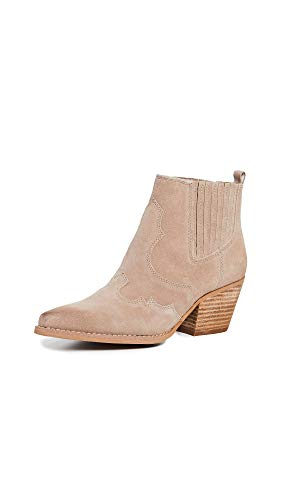 Sam Edelman Women's Winona Booties, Warm Taupe, Tan, 6.5 M US