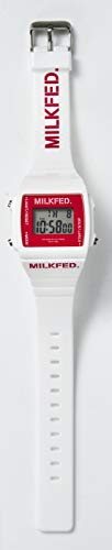 MILKFED. DIGITAL WATCH BOOK WHITE 画像 B