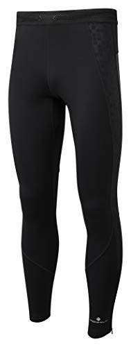 Ron Hill Men's Stride Stretch Tights, All Black, Medium from Ronhill