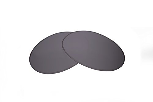 SFx Replacement Sunglass Lenses fits Local Supply Freeway 48mm wide (Ultimate Silver Mirror Black ()