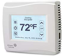 TEC3000 Stand-alone Thermostat Controller w/ Onboard Occupancy Sensor