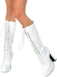 Ellie-schoenen - Eenvoudige (witte) Volwassen Laarzen, Wit, 9