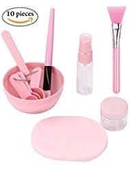 d1ed4be789e1 Amazon.com   CLEARANCE SALES! 10 pcs DIY Facial Mask bowl Kit Set ...