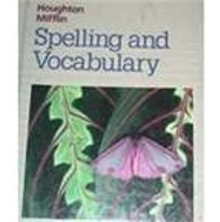 Houghton mifflin spelling and vocabulary 4th grade 1990 isbn houghton mifflin spelling and vocabulary level 3 ccuart