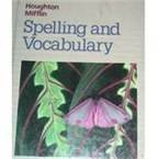 Houghton Mifflin Spelling and Vocabulary, Edmund H. Henderson and Shane Templeton, 0395626676