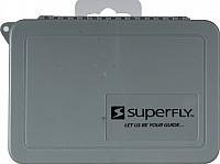 - Superfly Fly Box Flat Ripple, Medium, Grey