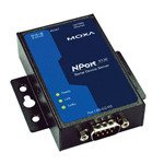 MOXA NPort 5130-1 Port Device Server, 10/100 Ethernet, RS-422/485, DB9 Male by Moxa