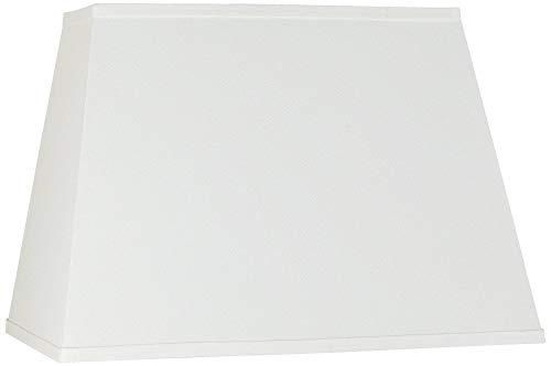 Ivory Linen Rectangular Shade 14x18x12 (Spider) - ()