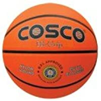 Cosco Hi-Grip Basket Balls, Size 5 (Orange)