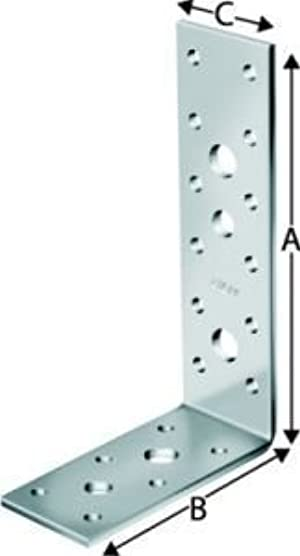 Simpson ag40312//ángulo conector Ag 40312/galvanizado con Autorizaci/ón