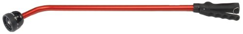 Dramm 13801 Kaleidoscope Rain Wand 30-Inch Length with Touch-N-Flow Valve, Red