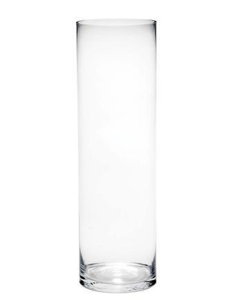 Tall Glass Cylinder Vase 60cm X 15cm Amazon Kitchen Home