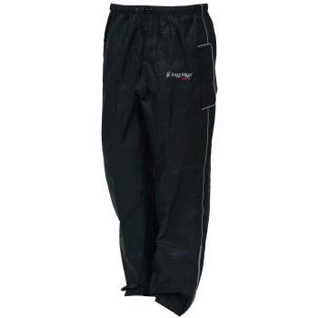 Frogg Toggs Road Toad Pant, Black, Small
