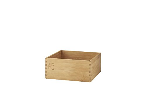 Rig-Tig Woodstock Storage Box Large, Crate, Bamboo, Light Brown, 22 x 22 x 10 cm, ZPR3-2 ()