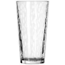 Libbey DuraTuff Hammered Casual Cooler Glass, 20 Ounce - 12 per case ()
