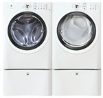 Electrolux IQ Touch White Front Load Washer and ELECTRIC Dry