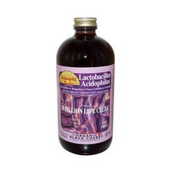 Liquid Acidophilus, Blk Ch, 16 oz ( Multi-Pack) by Dynamic Health by Ineardi