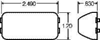 Truck-Lite 15200Y Truck-Lite