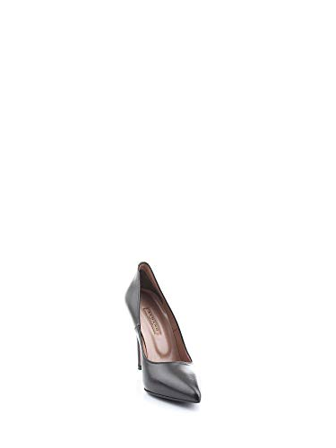 Albano Mujer Cuero 8001nero Negro Altos Zapatos BB86qOw1Sn