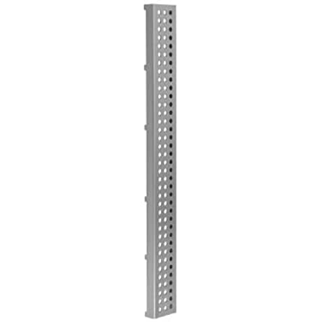 Jaclo 6212 60 PSS Dotted Channel Long Shower Drain Grate 60 Polished Stainless Steel