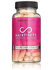 Hairfinity Healthy Hair Vitamins 60 Capsules (1 Month Supply) (Growth Vitamins Hair Fast)